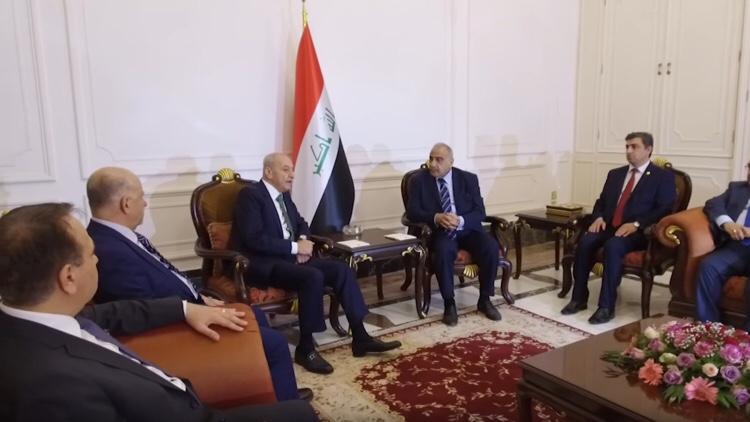 عبد المهدي يبحث مع بري العلاقات العراقيةاللبنانية